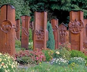 Ein Friedhof als Glaubenszeugnis