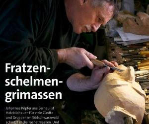 Fasnet: Besuch beim Maskenschnitzer Johannes Köpfer