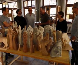 Treffen aller Schulen für Holzbildhauerei in Berchtesgaden