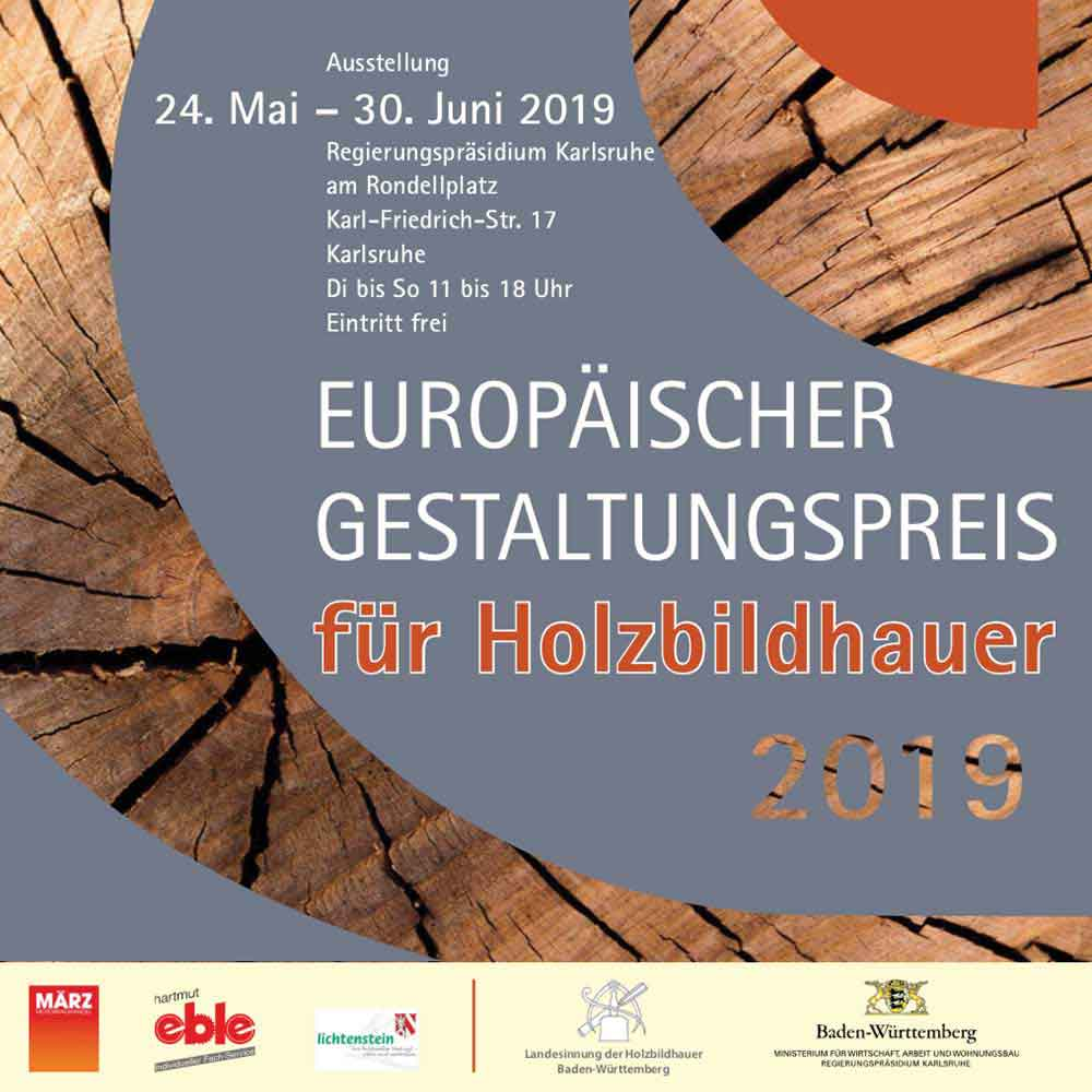 EUROPÄISCHER GESTALTUNGSPREIS  für Holzbildhauer